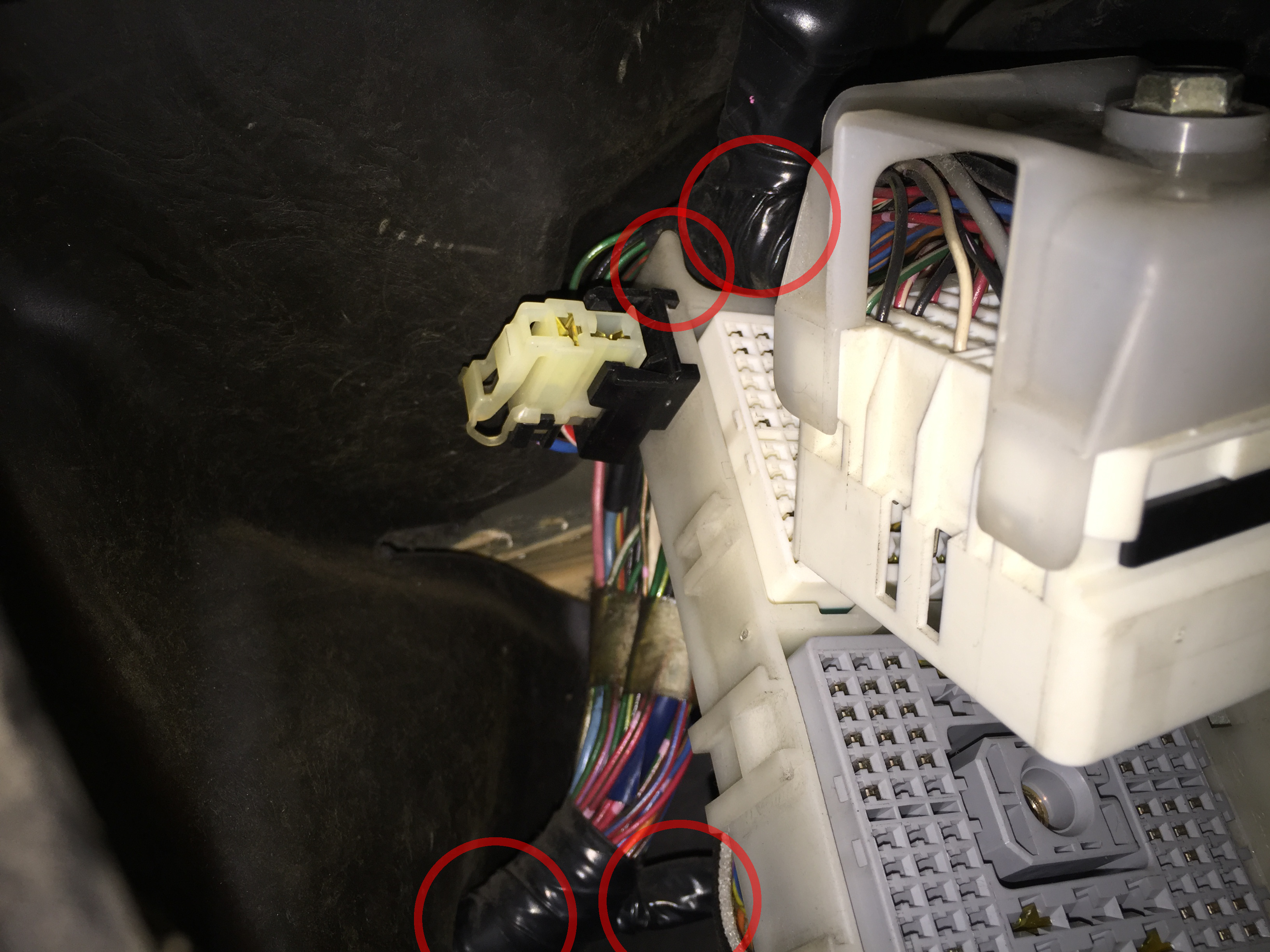 Fuse Box S13 Hatch Wiring Library Diagram Under Dash Harness Relocation 1996 Nissan Silvia Img 5159